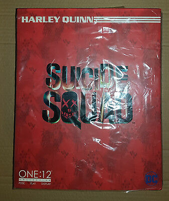 One:12 Collective Suicide Squad Harley Quinn 1/12th Scale Figure Mezco Toys DC