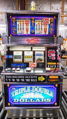 Igt S-2000 Reel Slot Machine: Triple Double Dollars