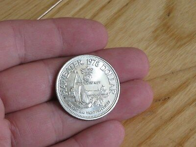 1978 Manitoulin Haweater trade dollar coin Seaport &Yacht Centre Ontario Canada