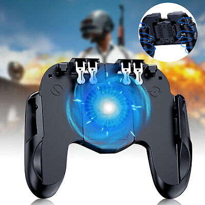 Mobile Phone Game Controller Joystick Cooling Fan Gamepad for IOS Android PUBG