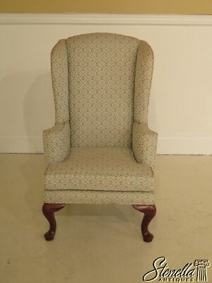 40653E:  CONOVER Solid Cherry Queen Anne Child s Size Wing Chair