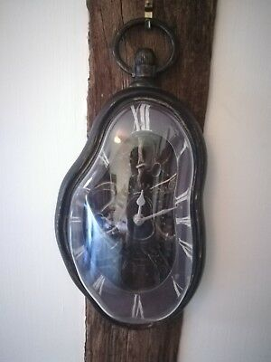 Quirky, Interesting Steam Punk/gothic Hanging Wall Clock! Perfect Condition!