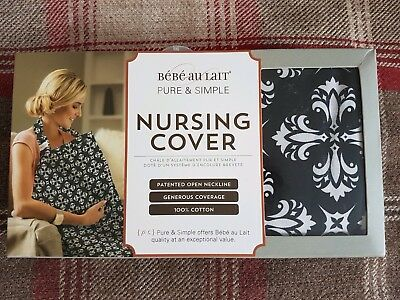 Bébé Au Lait Nursing Cover. Breastfeeding Apron. 100% cotton. Brand new.