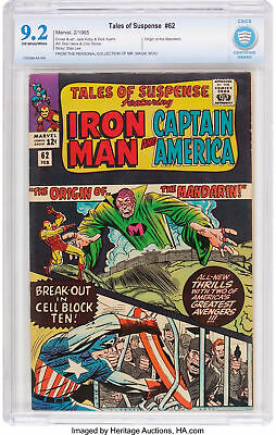 Tales of Suspense #62 (Marvel,65) CBCS NM- 9.2 Off-White/White Pages, Mandarin