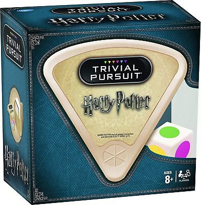 Harry Potter Films Trivial Pursuit Card Board Game With 600 Questions 8 Years +