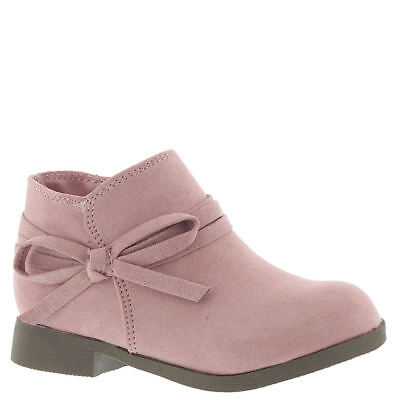 Nine West Kids Cyndees T Girls' Infant-Toddler Boot - Dusty Rose/Microfiber