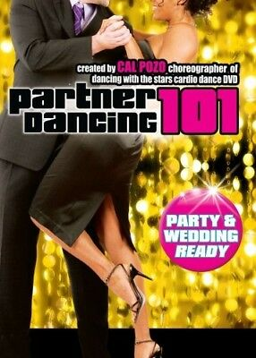 CAL POZO PARTNER DANCING 101 PARTY AND WEDDING READY New Sealed DVD