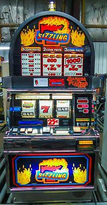IGT S-2000 REEL SLOT MACHINE: SIZZLING 7's