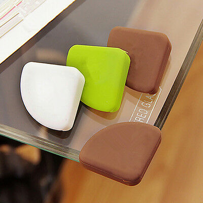 4pcs Child Baby Safe Silicone Protector Table Corner Edge Protection Cover S