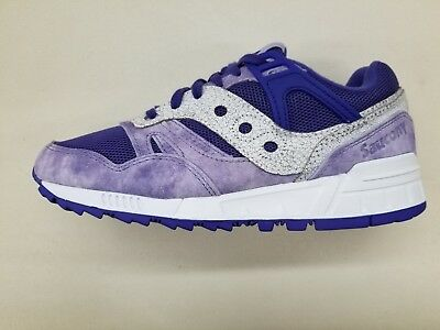 c2c285aeebab SAUCONY GRID SD Garden District Purple White Mens Size Sneakers S70416-3