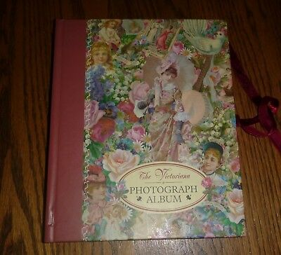 "Victorian Style Photo Album 8 x 9.5"" ~ 20 pages  Robert Frederick Edition 1997"