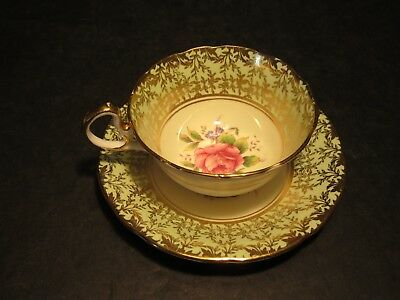 VTG Aynsley England Bone China Fancy Cup & Saucer Set