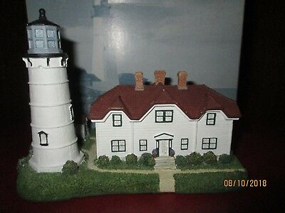 """1996 Harbour Lights """"CHATHAM"""""""" Mass. Lighthouse Replica Signed B. Younger"""