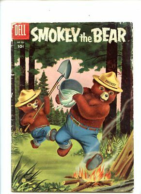 Four Color #653 (1955) Smokey The Bear Dell GD