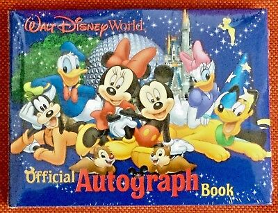 WALT DISNEY WORLD Official Autograph Book Mickey & Pals - Sealed - NEW