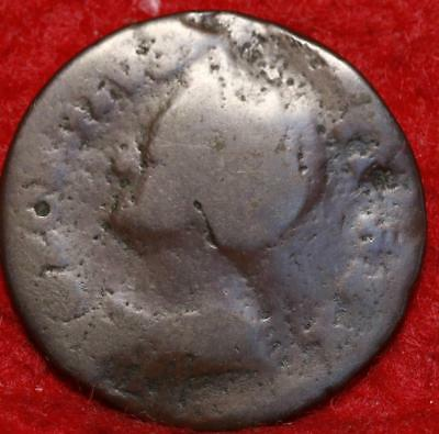 1739 Great Britain Farthing Foreign Coin
