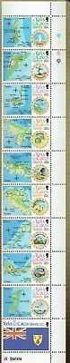 Turks & Caicos Is. 1981 Tourism Strip X 10 Foldered   Mnh As Is See Scan