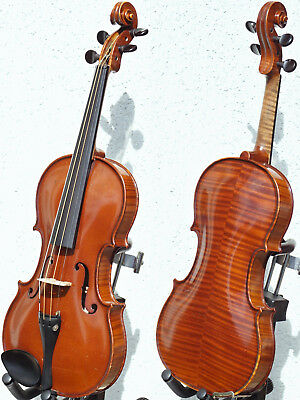 Very fine VINTAGE VIOLIN by Ladislav HERCLIK, Kolin 1967. SUPERB BUILD & TONE!!