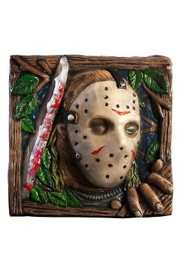Jason Voorhees Wand Halloween Dekoration Halloweendeko Freitag der 13.