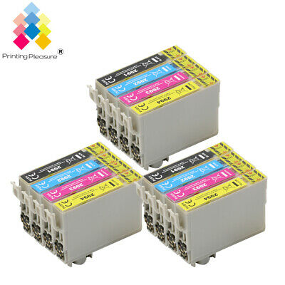 12 Ink Cartridge for Epson Expression Home XP235 XP247 XP452 XP455 UPGRADEDCHIP