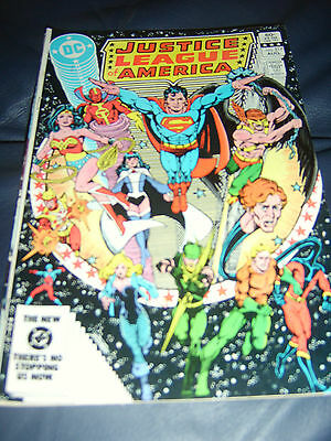 Justice League of America #217 Aug 1983 (FN+)