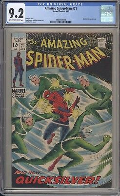 AMAZING SPIDER-MAN 71 - CGC 9.2 - High Grade Copy - Marvel