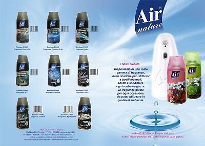 12 Pz Air Deodorante Ricarica Spray Compatibile Con Air Wick Profumo Igiene Casa