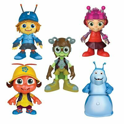 "5 x Beat Bugs Hijinx Alive Technology 6"" Singing Figure Bundle For Ages 3+"