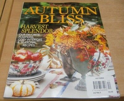 Victoria Bliss magazine Autumn Bliss 2018 Harvest Splendour: Pumpkins, interiors