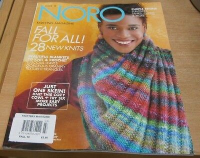 Noro Knitting (Knitters magazine) #13 Fall 2018: 28 New Knits, Cozy Cowl & more