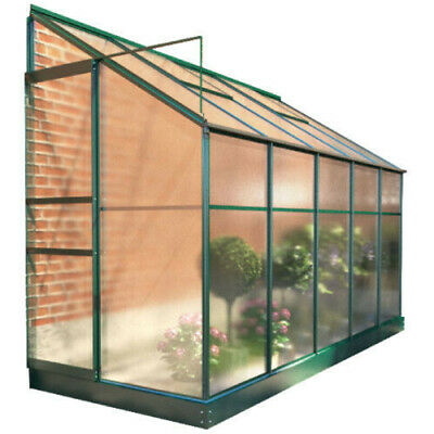 BillyOh Polycarbonate Aluminium Frame Lean-To Garden Plant Grow Greenhouse