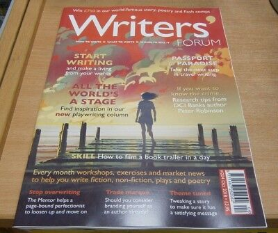 Writers' Forum magazine #204 Oct 2018 Make a living from writing + Research Tips