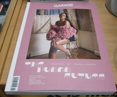 Garage magazine Issue #15A The Human Future Rihanna by Deana Lawson. Taryn Simon