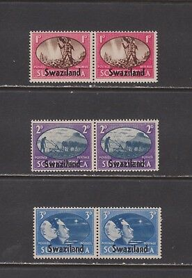 Swaziland-  Lot 4562. Mint, LH. Sc# 38-40.