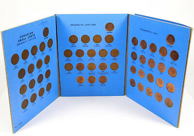 1920 to Date (1959) Canada Small Cent Collection - Whitman Album - No. 9062