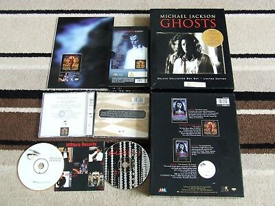 Michael Jackson Deluxe Collector Ghosts Box Set Limited Edition