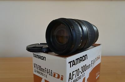 Tamron AF 70-300mm F/4-5.6 Di LD Zoom Lens With Macro. Canon Eos Fit