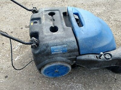 Nilfisk Alto 350 Walk-Behind Commercial Sweeper (12volts Battery Operated)