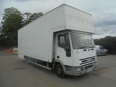 1997 R Reg Iveco Cargo 75E15 7.5 Ton 23 Ft Dropwell Furniture Luton No Reserve N