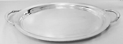 Royal Danish By International  Sterling Silver Large WAITER or TEA TRAY, W300-34