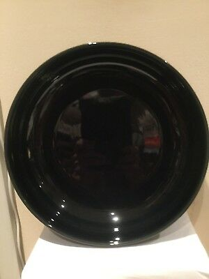 denby black and gray large serving bowl
