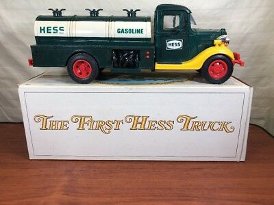 Vintage Collectible 1982 1983 THE FIRST HESS TRUCK In The Original Box Working