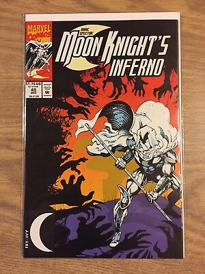 Marc Spector Moon Knight #45 1989 VF to NM