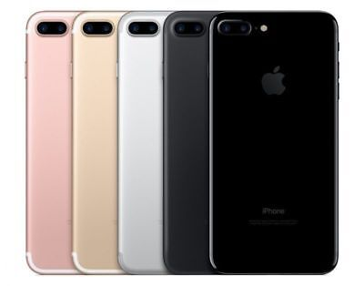 "Apple iPhone 7 PLUS + 5.5"" Software Unlocked GSM SmartPhone 32GB 128GB 256GB"