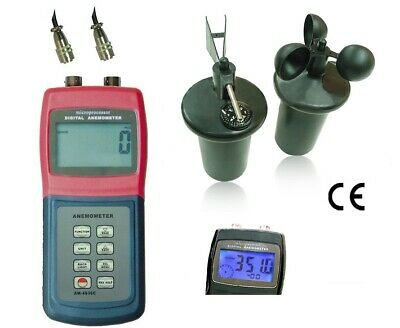 Anemometer with Thermometer / Gauge air / wind PRO (AM-4836C)