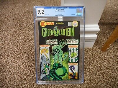 DC Special 17 cgc 9.2 DC 1975 WHITE pages Mike Grell cover Green Lantern movie
