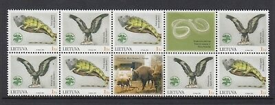 LITHUANIA 2004 ZOOLOGY MUSEUM Block, Mint Never Hinged