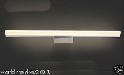Modern Minimalist Style LED 12W Stainless Steel Bathroom Mirror Front Lamp