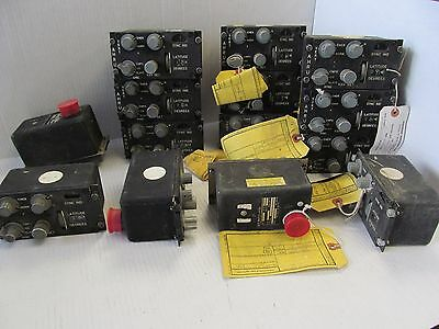 Lear Siegler AHRU Attitude Heading Ref Unit Controller Compass  FOR DISPLAY ONLY