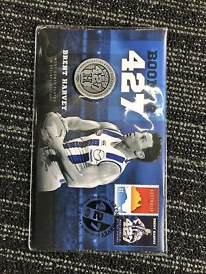 Brent Boomer Harvey Collector 427 Coin/stamp North Melbourne Kangaroos